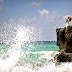 artistic wedding photography in cozumelsea gift bless
