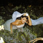 beauty bridal cenote trash the dress cozumel photography