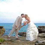 trash the dress photography couple beach portrait cozumel
